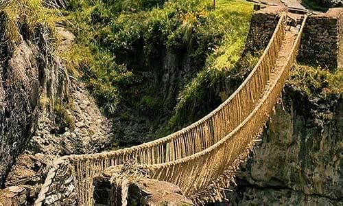 Tour to the Inca Bridge Qeswachaka